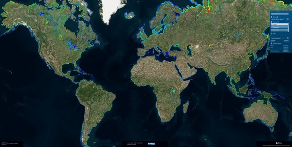 World Water Quality Portal. <br/> Photo: © EOMAP
