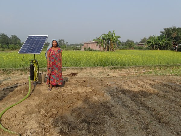 An award for the early adoption of solar photovoltaic solutions for irrigation in the production of horticulture in Zambia, Nepal and Honduras.