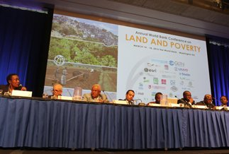 More than 1,400 participants gathered at this year's Conference on Land and Poverty.