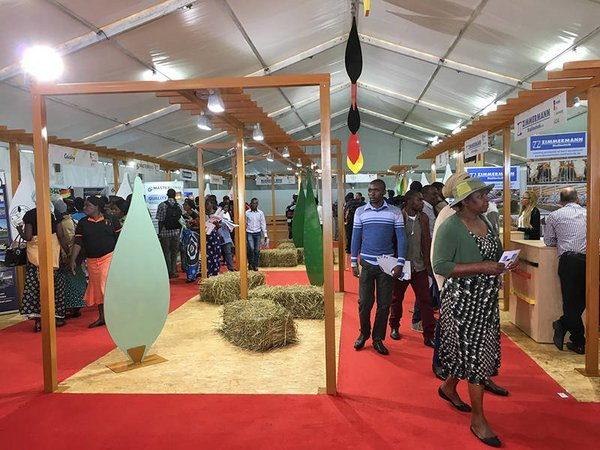 German exhibitors presented their ideas and products to the Zambian farmers and agricultural market actors at Agritech Expo Zambia. <br/> © Photo: DLG International